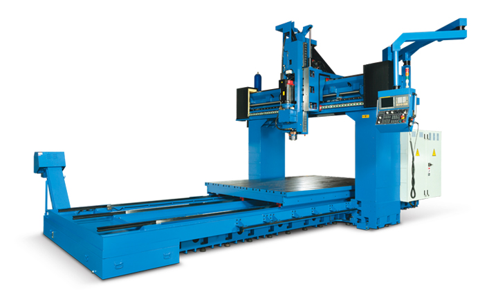 SDV Series Linear Guideway Double Column Central Machinery